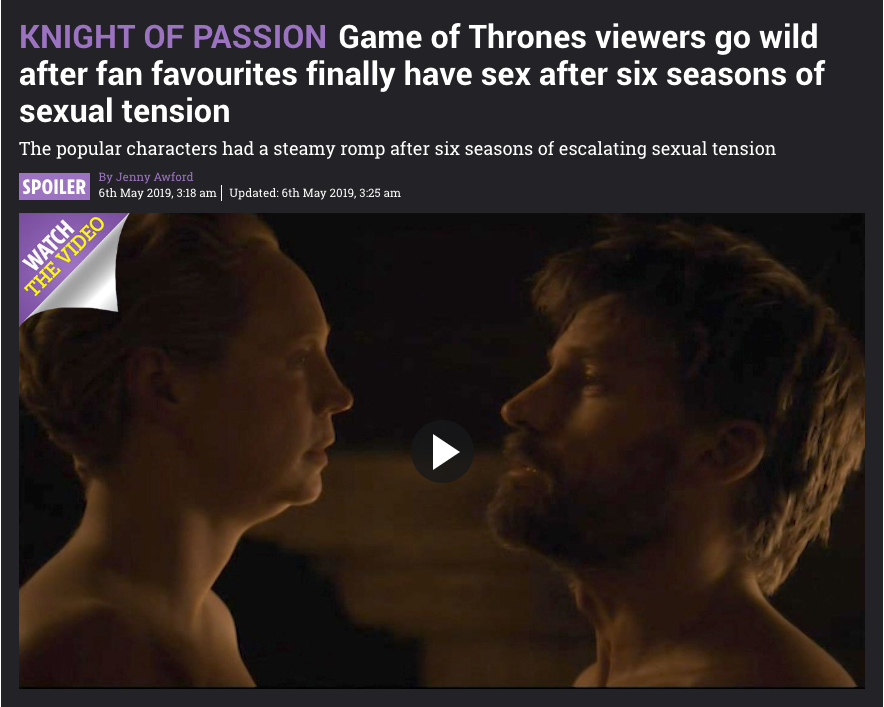 """How Publishers Can """"Tune In"""" to Their Audiences for Game of Throne's Final Episodes"""