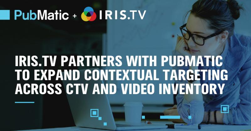 IRIS.TV Partners with PubMatic